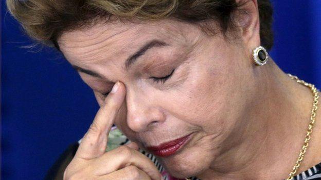 El presidente de Brasil, Dilma Rousseff