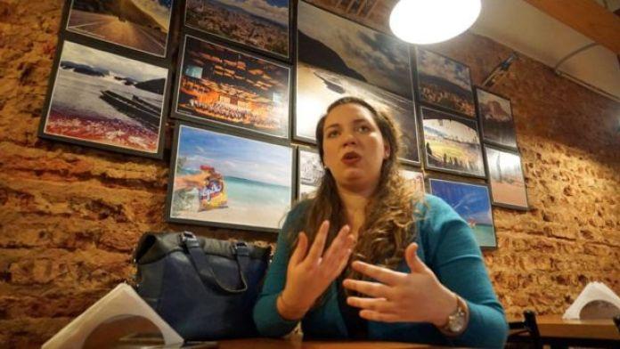 Ana Pisani es la cofundadora de Locos por las arepas. Emigró y, como casi todo venezolano lo primero que buscó cuando llegó hace 6 años a Buenos Aires fue una arepera.