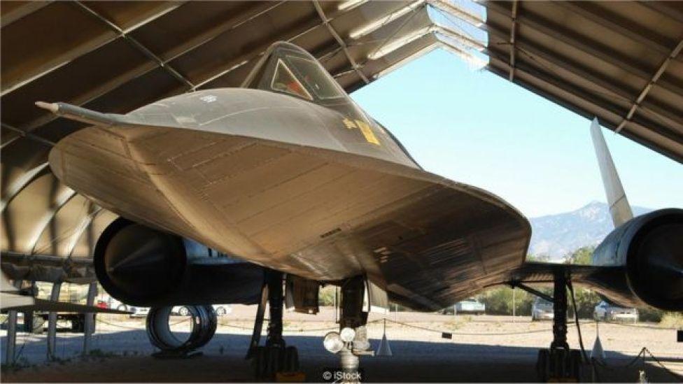 A aeronave americana SR-71