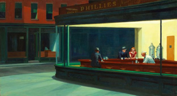 Nightwhawks by Edward Hopper