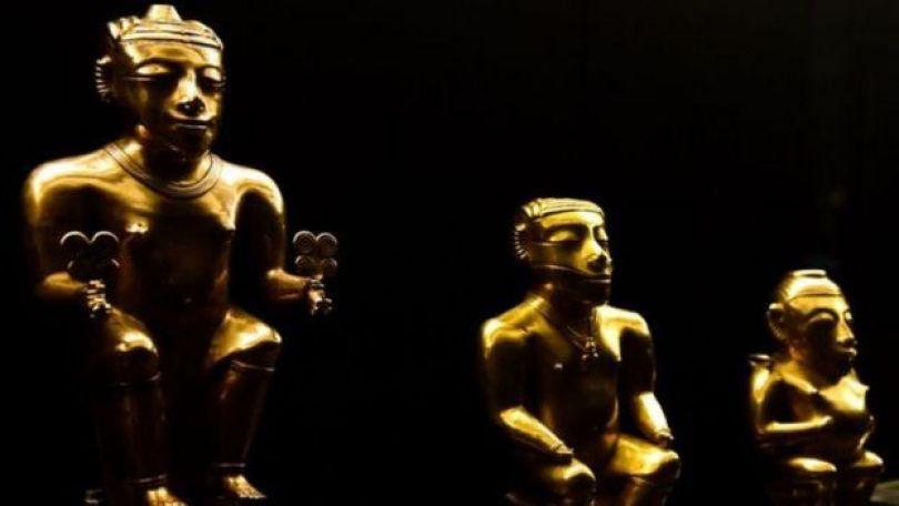Estátuas cedidas pela Colômbia