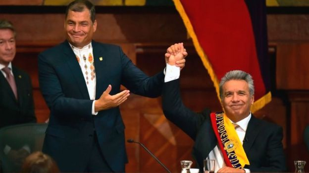 Rafael Correa e Lenín Moreno