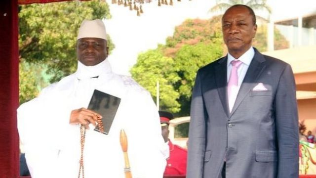 Le président Condé estime qu'il faut rassurer le président sortant gambien pour le pousser a accepter de partir.