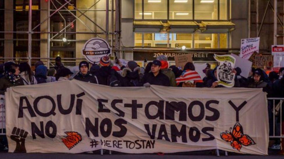 Manifestación a favor de la liberación de Daniel Ramírez Medina, un