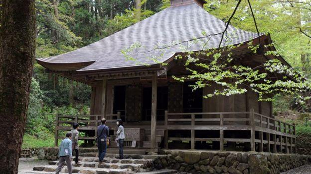 Sảnh Kyozo tại đền Chusonji