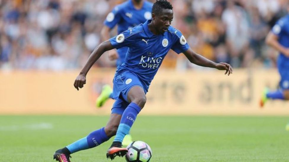 Leicester City's Ahmed Musa