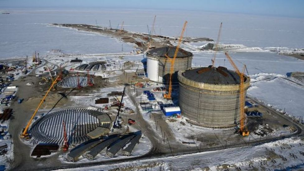 Reservas de gas natural en el Mar de Kara.
