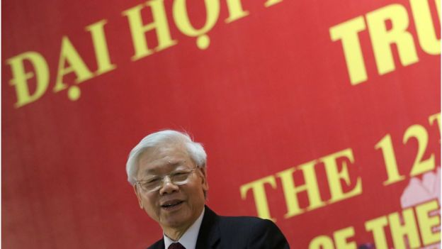 Nguyen Phu Trong, Vietnam Communist party leader