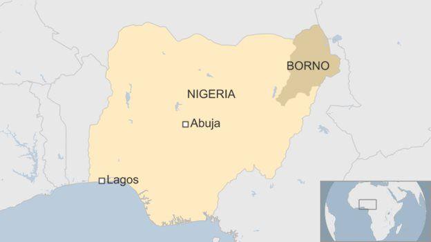 Floresta ocupada pelo Boko Haram fica no estado de Borno, no nordeste nigeriano