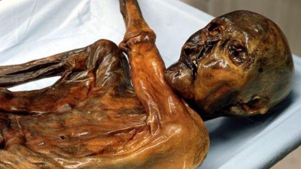 Momia del Hombre de Hielo.