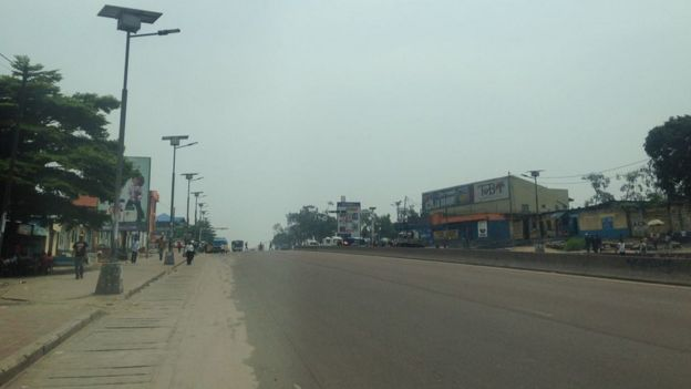 Un calme plat règne lundi matin dans les rues de la capitale Kinshasa au lendemain de l'expiration du second mandat du président congolais Joseph Kabila.