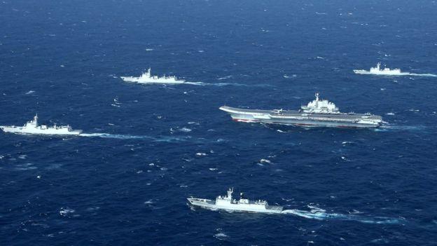 Trung Quốc tập trận ở Biển Đông đầu năm 2017