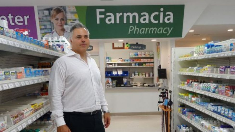 Una farmacia de Miami