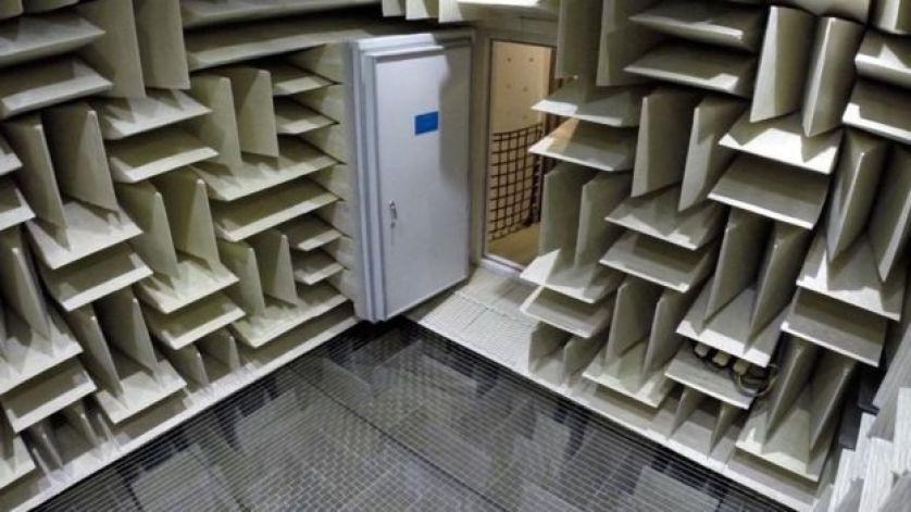 الغرفة عديمة الصوت لدى شركة مايكروسوفت