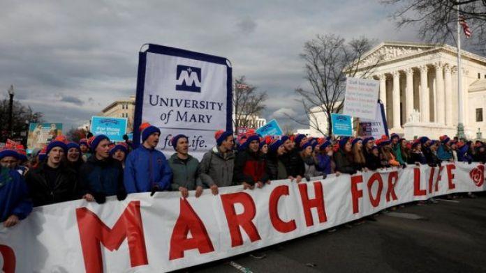 Marcha contra el aborto en Washington, DC