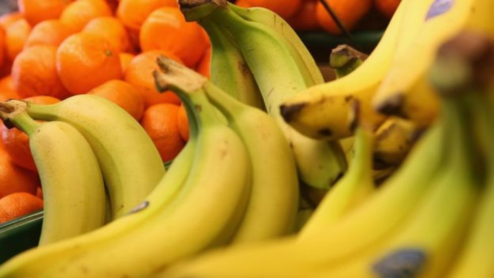 Bananas e laranjas