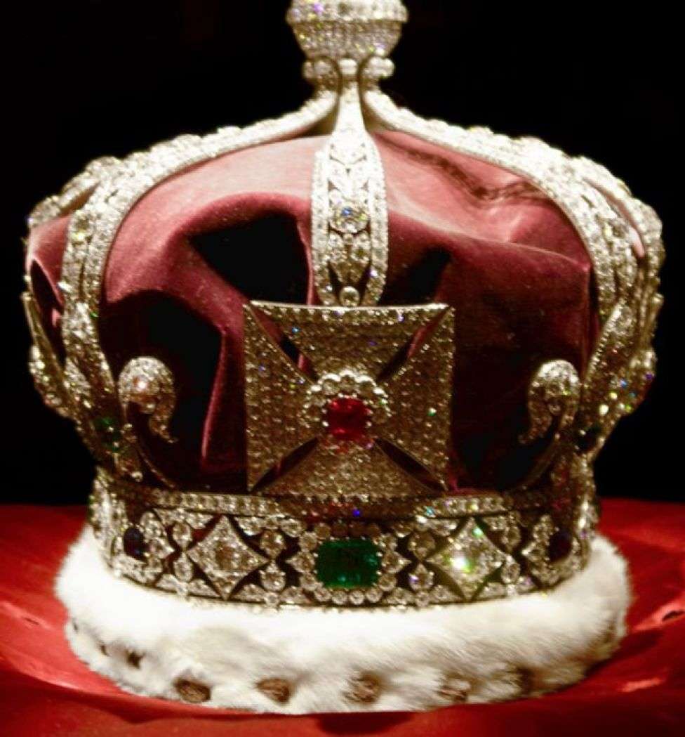 Corona imperial de India (Foto: Pietro&Silvia/Wikimedia Commons)