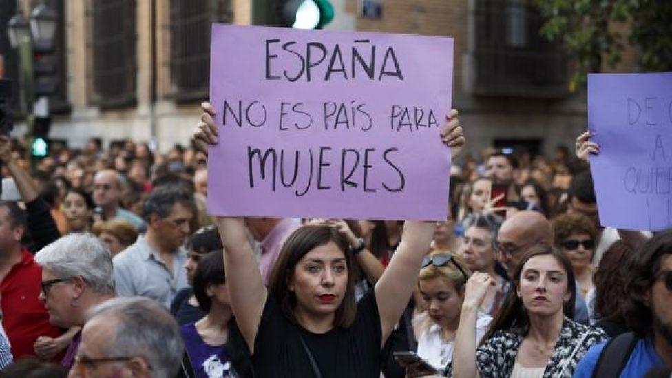 Protestas en España.