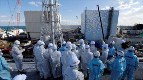 The Fukushima nuclear plant in Japan, 18 November 2016