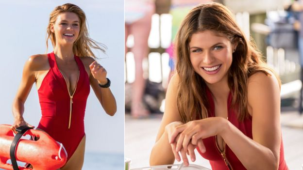 Kelly Rohrbach and Alexandra Daddario