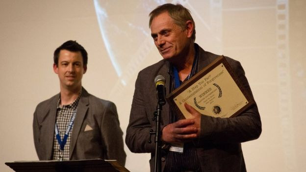 Paul Moorehead at Chicago Peace on Earth Awards