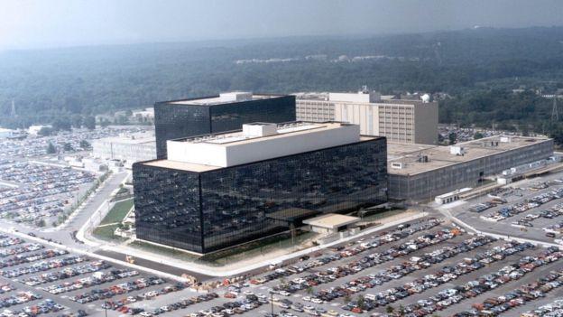Oficinas centrales de la NSA.