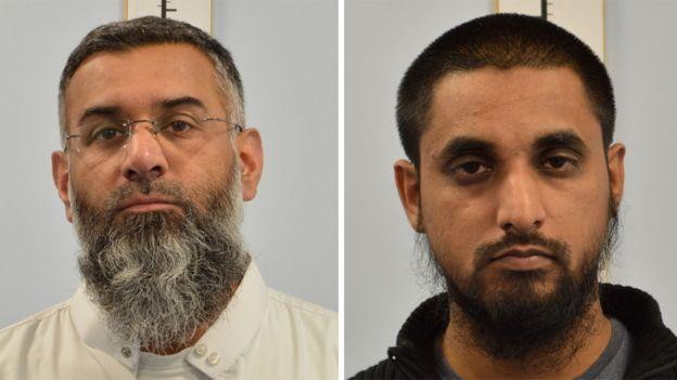 Anjem Choudary was convicted alongside his associate Mohammed Mizanur Rahman