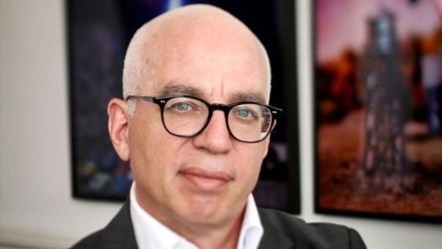 US author Michael Wolff
