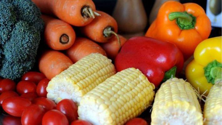 مجموعة من الخضروات