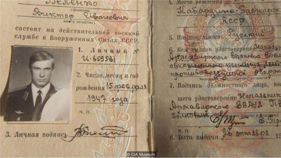 Os documentos de Belenko
