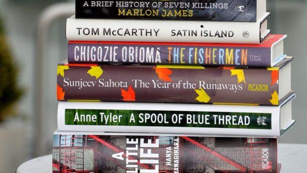 Man Booker shortlist books