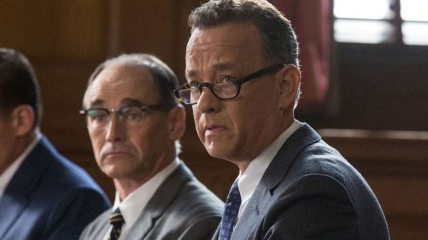 Bridge of Spies - Mark Rylance and Tom Hanks
