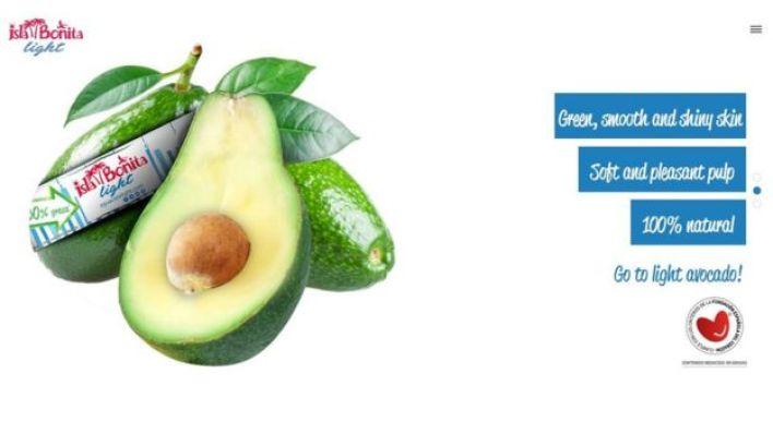إعلان عن منتج الأفوكادو منخفض الدهون