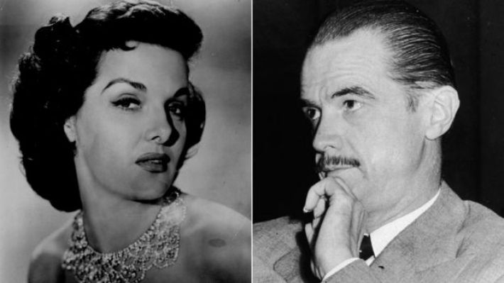Jane Russell and Howard Hughes