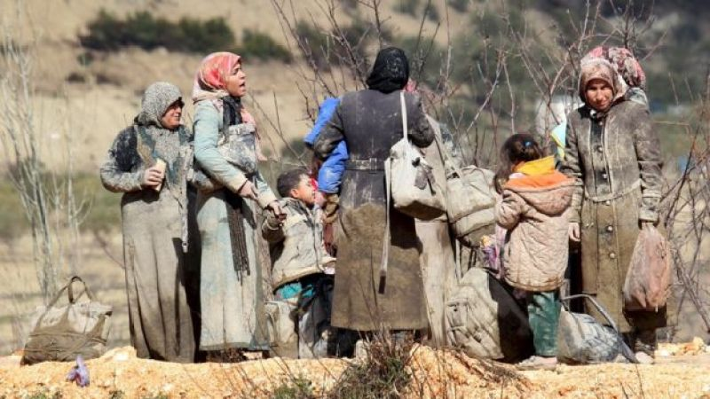 Desplazados sirios