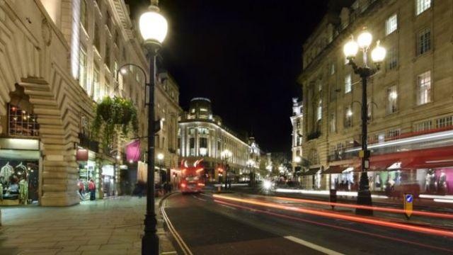 Calles de Londres por la noche