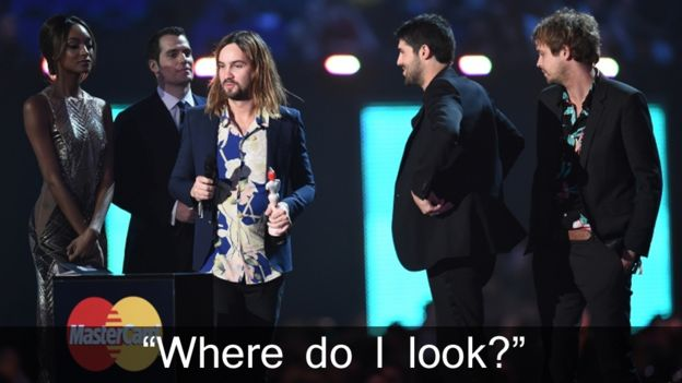 Tame Impala receive their Brit Award