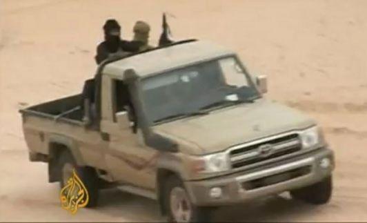 Miembros de al Qaeda en el note de Mali. (Foto: Al Jazeera)