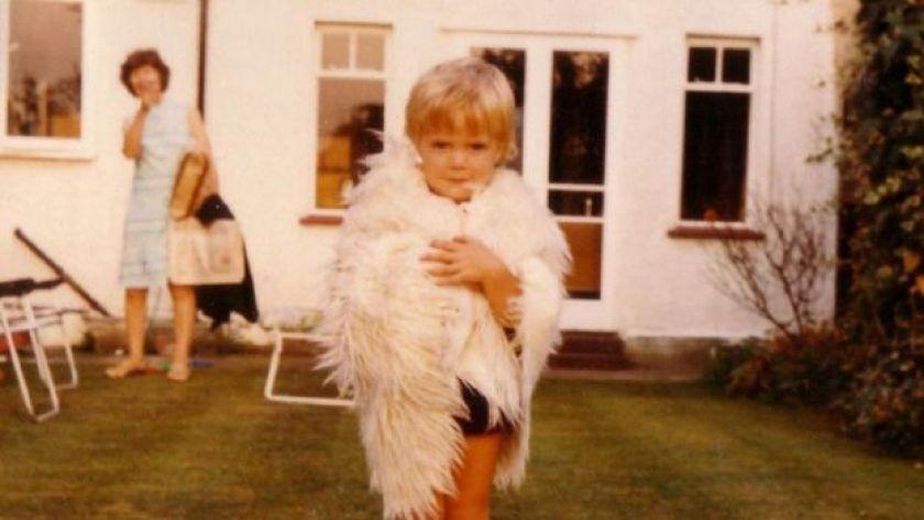 Eski bir çocukluk fotoğrafı