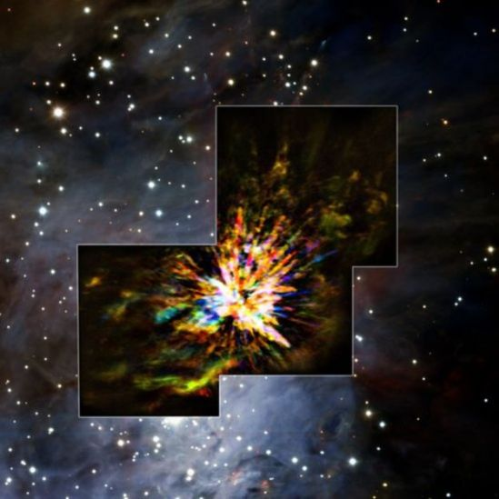 Colisión de estrellas