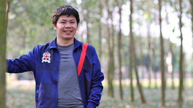 Chuyên gia hoạt động trong lĩnh vực giảm thiểu rủi ro và thiệt hại thiên tai Nguyễn Ngọc Huy