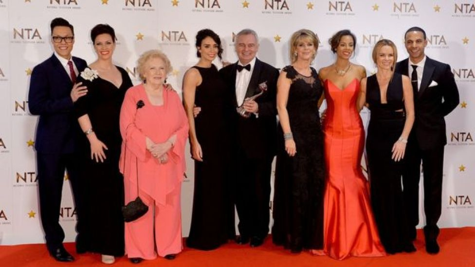 This Morning team and Denise at last years National Television Awards
