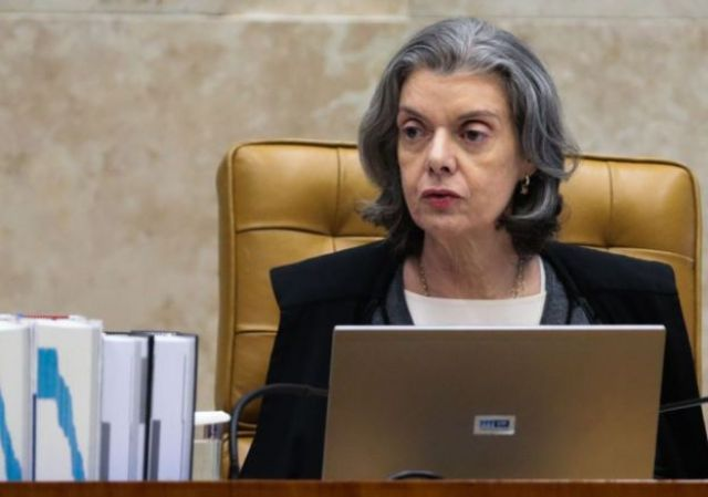 A presidente do STF, Cármen Lúcia
