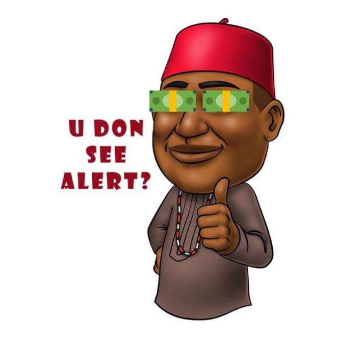 U Don See Alert emoji
