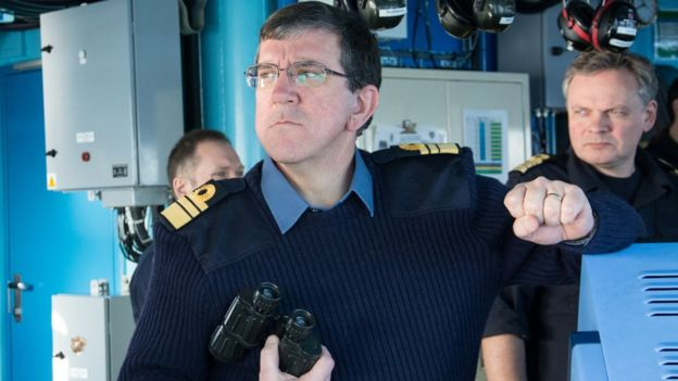 Vicealmirante Peter Hudson