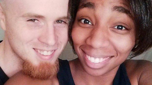 Danesha y Jeffrey