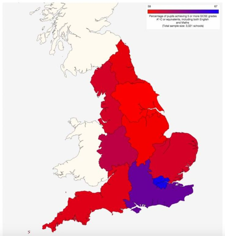 2013 GCSE results