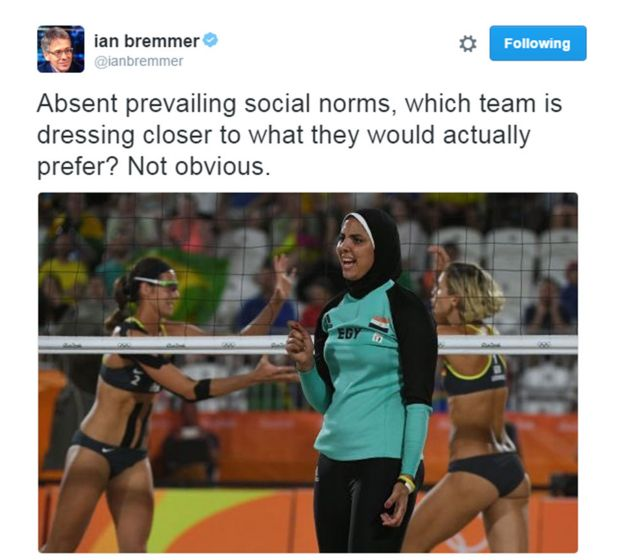 Tweet by Ian Bremmer
