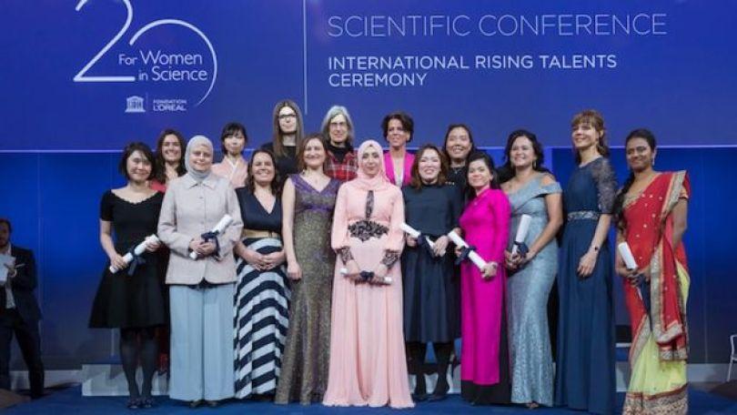 Vencedoras do prêmio 'Rising Talents'