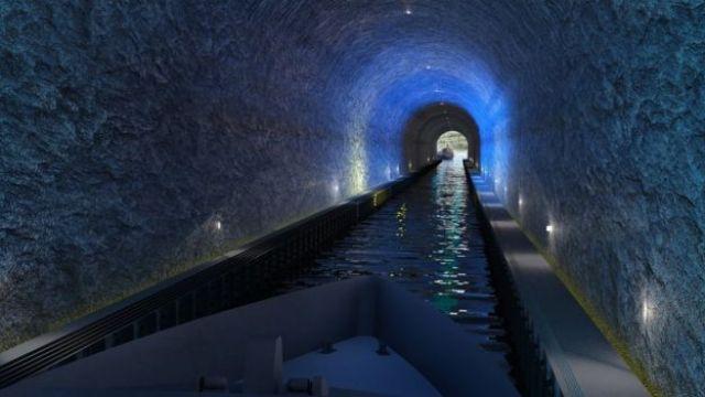 Vista del túnel desde el interior
